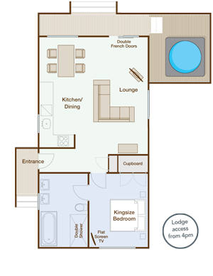 Nightingale Holiday Lodge Plan - Download/View PDF