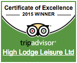 2015 certificate of excellence Trip Adviser award winner